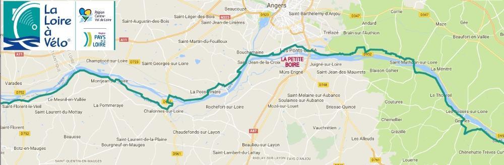 Parcours Loire à Vélo